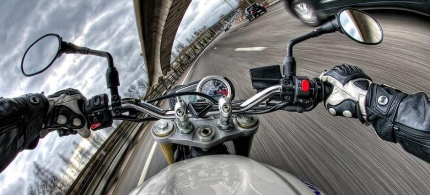 Moto quand il fait chaud