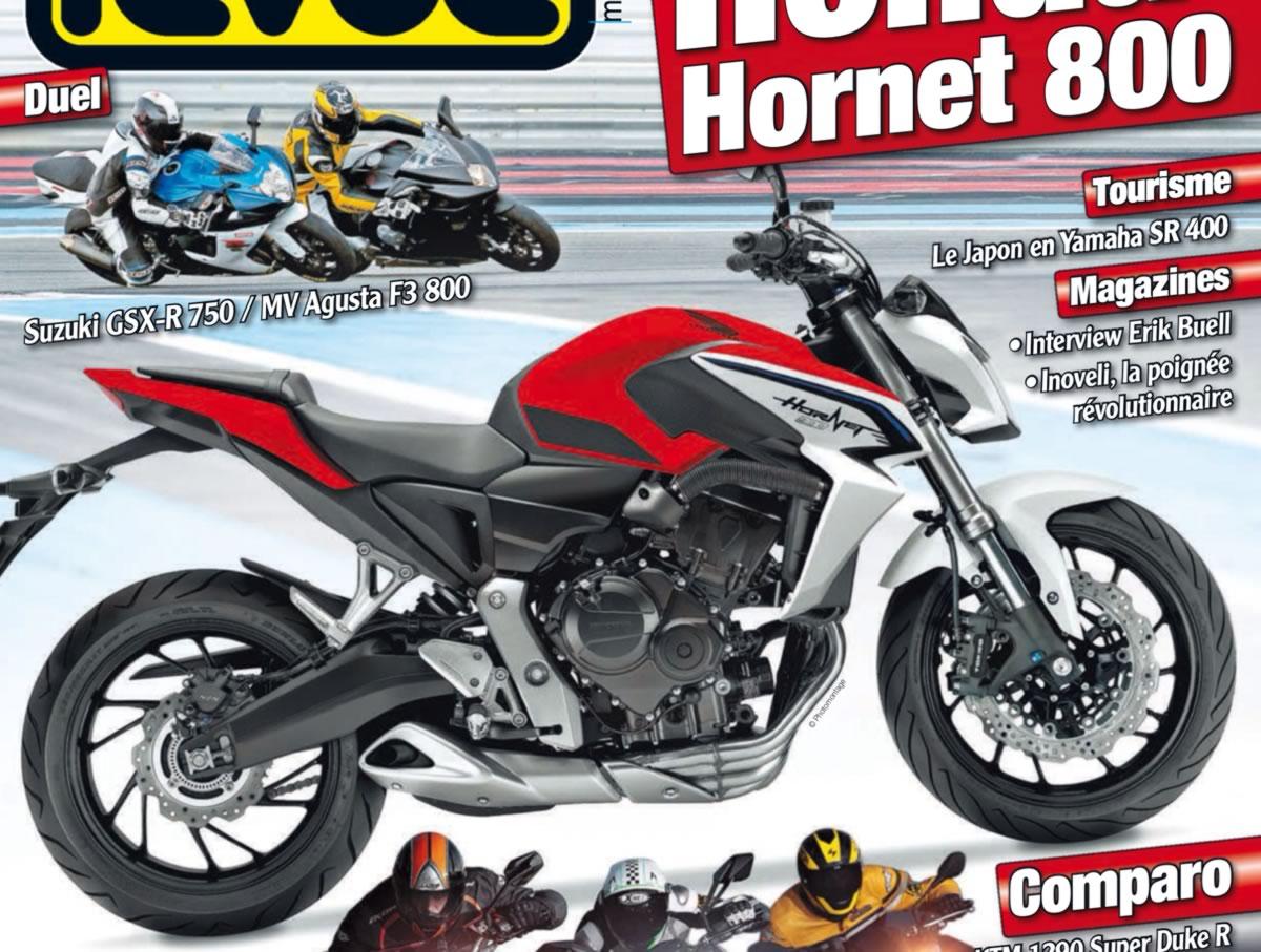 Hornet 800 moto revue