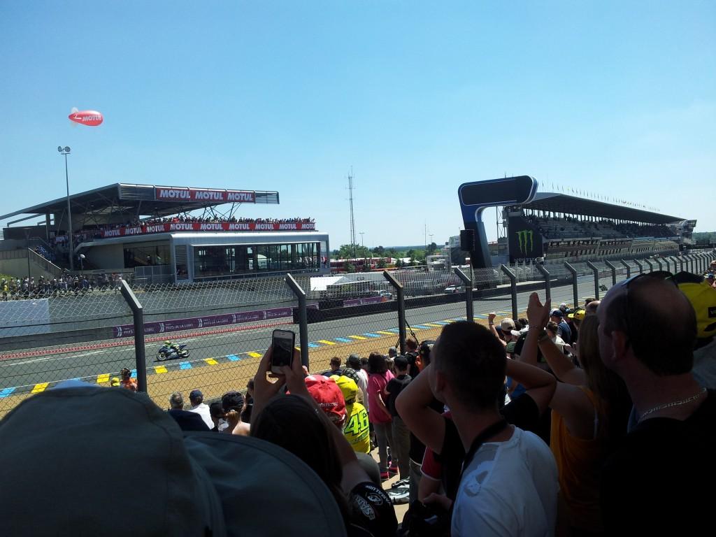 Bienvenue au Mans pour le MotoGP de France !