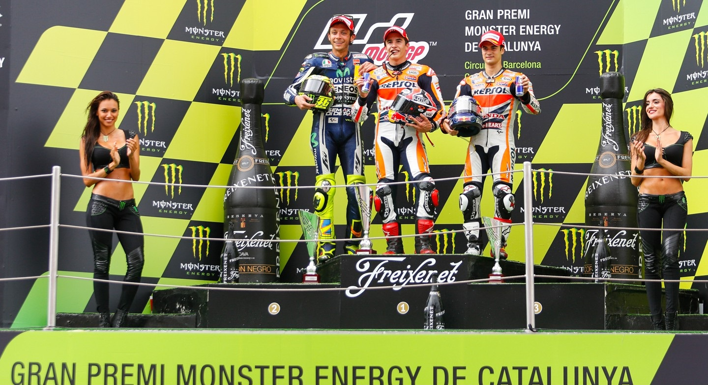 podium catalogne 2014
