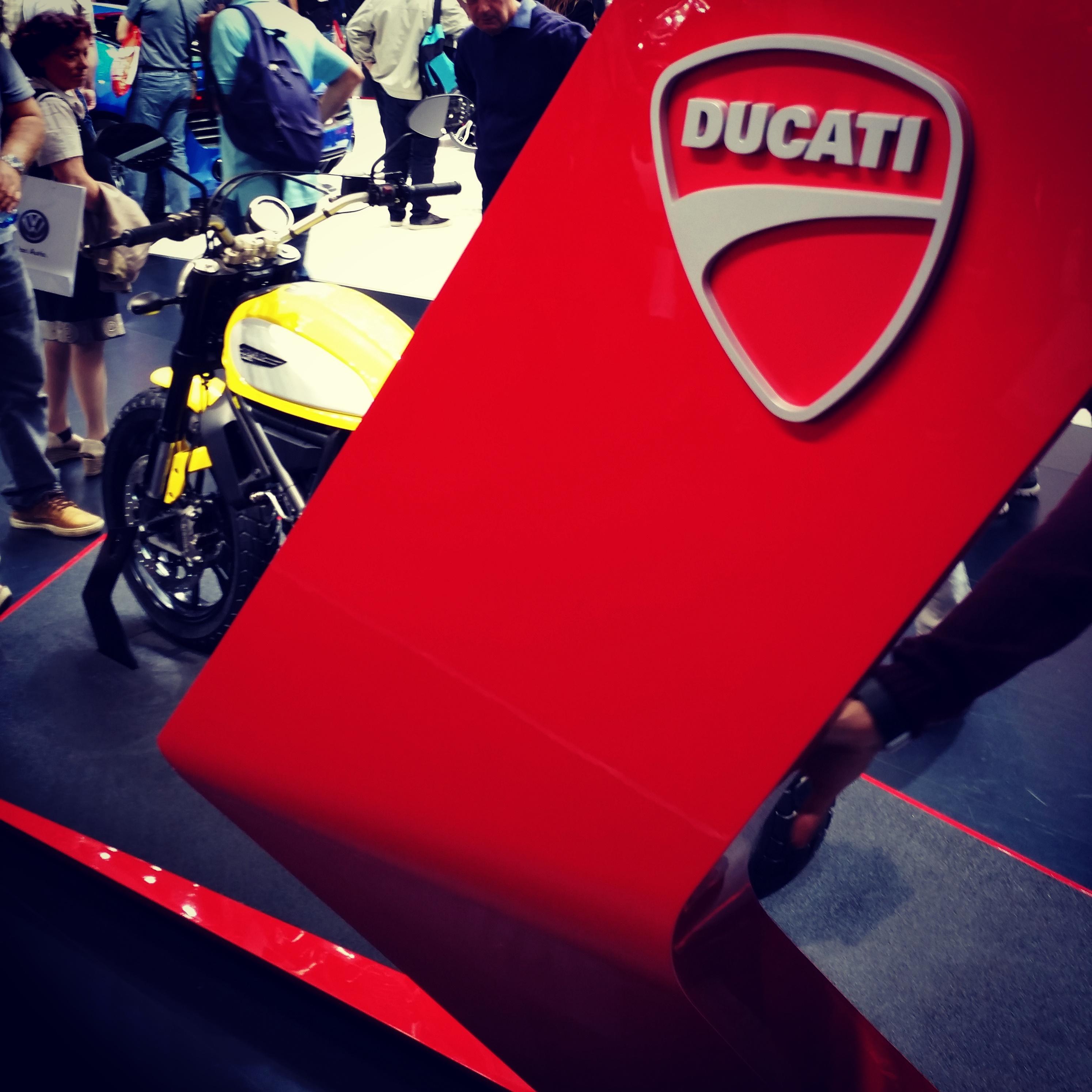 La nouvelle Ducati Scrambler