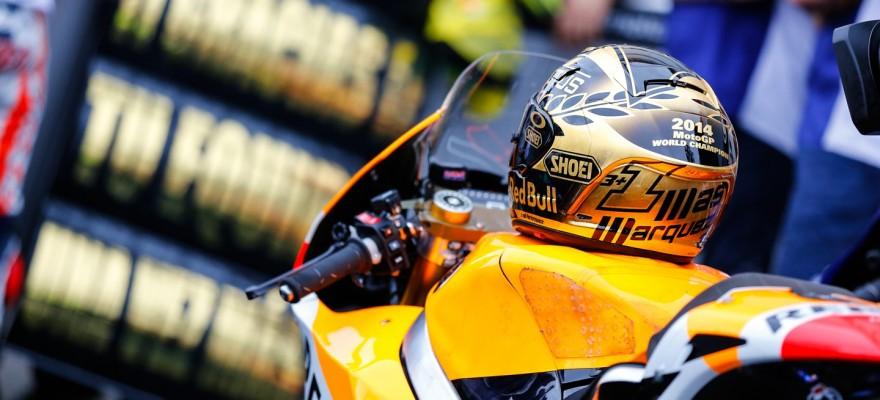 Marc Marquez Champion Du Monde De Motogp En 2014 La