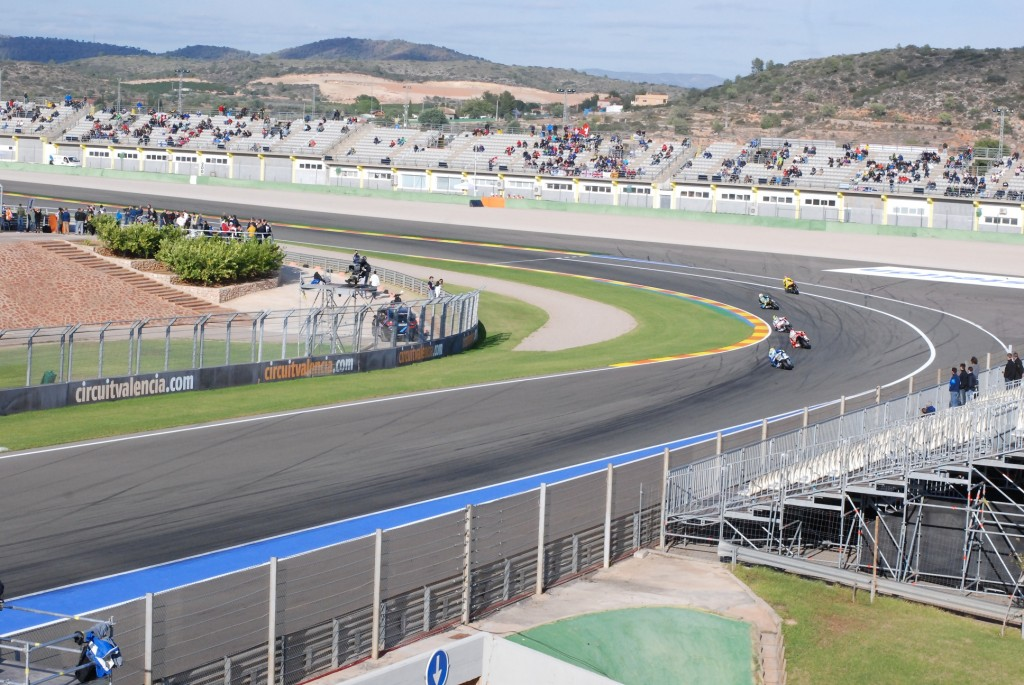 Le moto2 de Valence