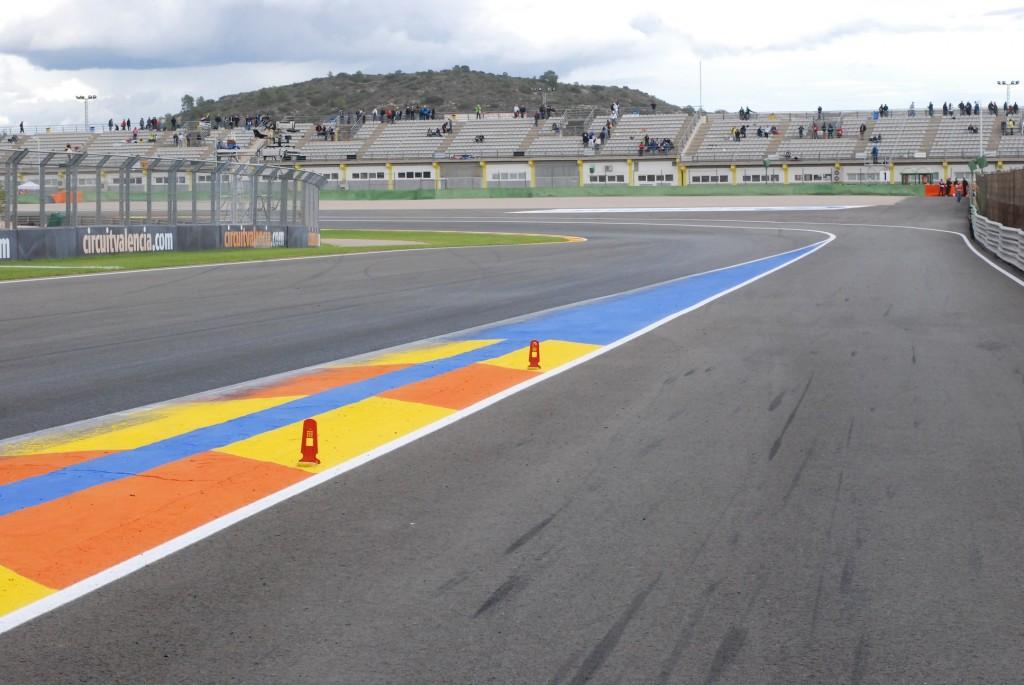 Fouler la piste de Valence