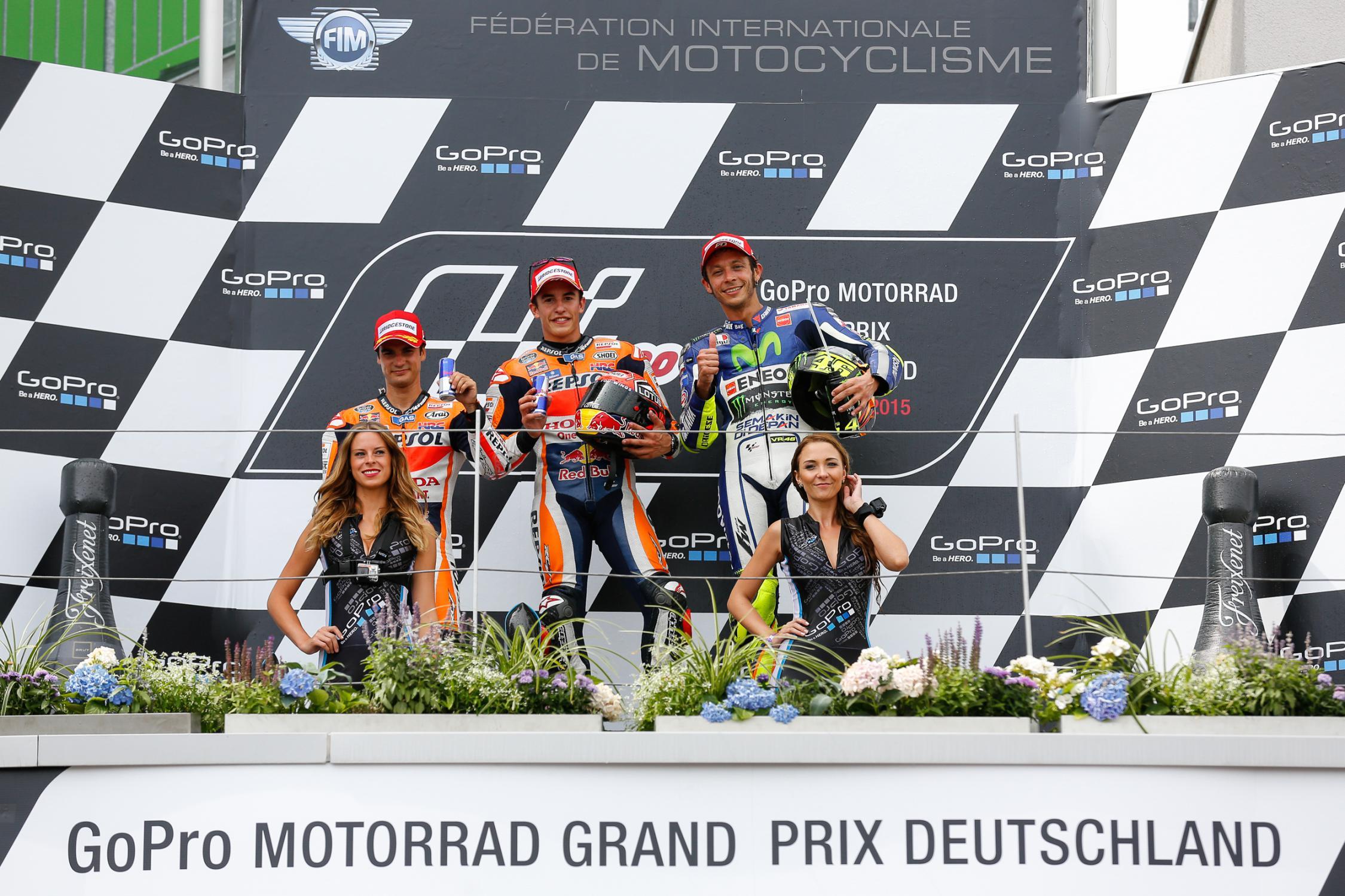 podium moto allemagne 2015