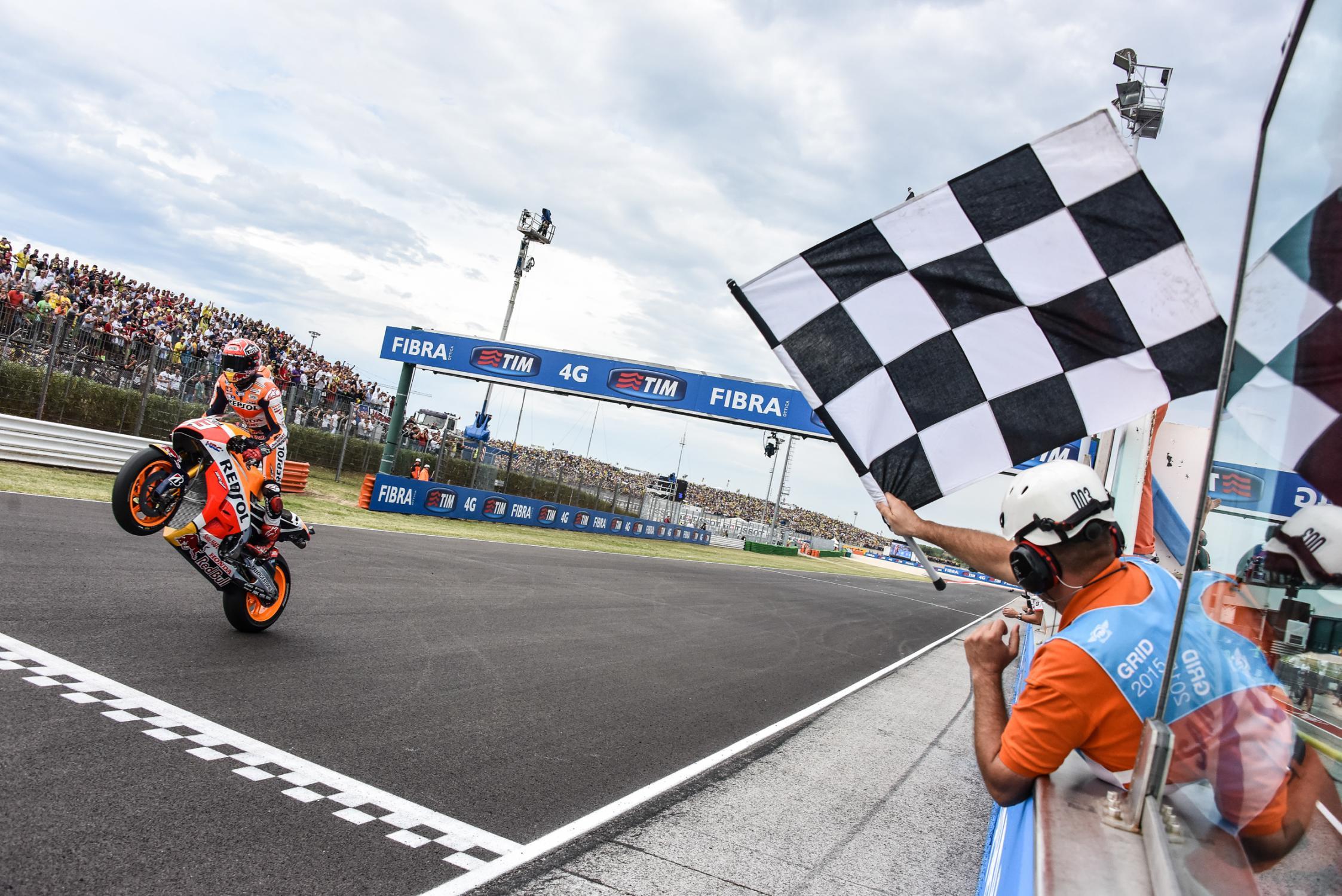 Victoire de Marc Marquez