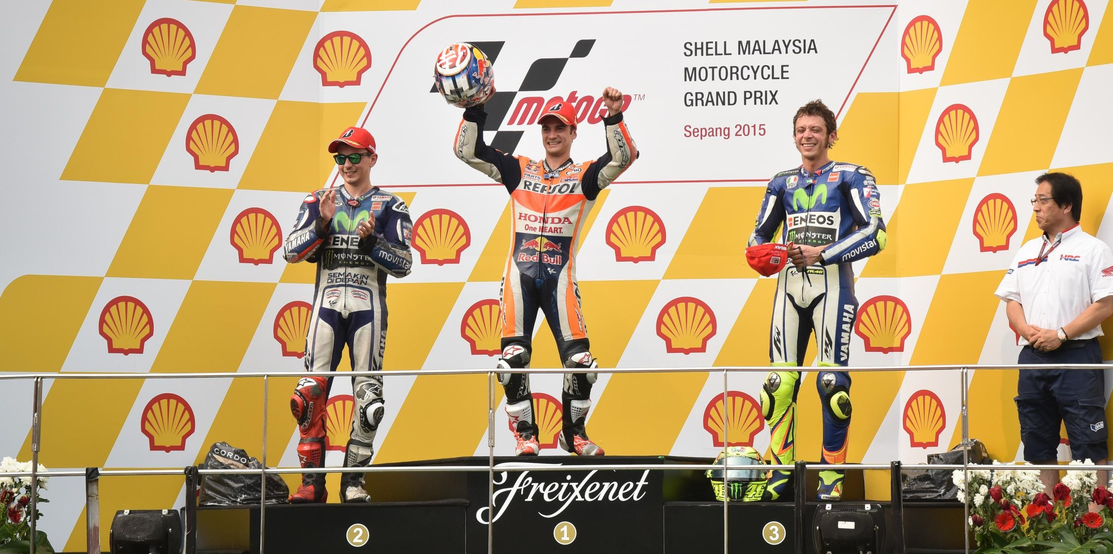 podium malaisie