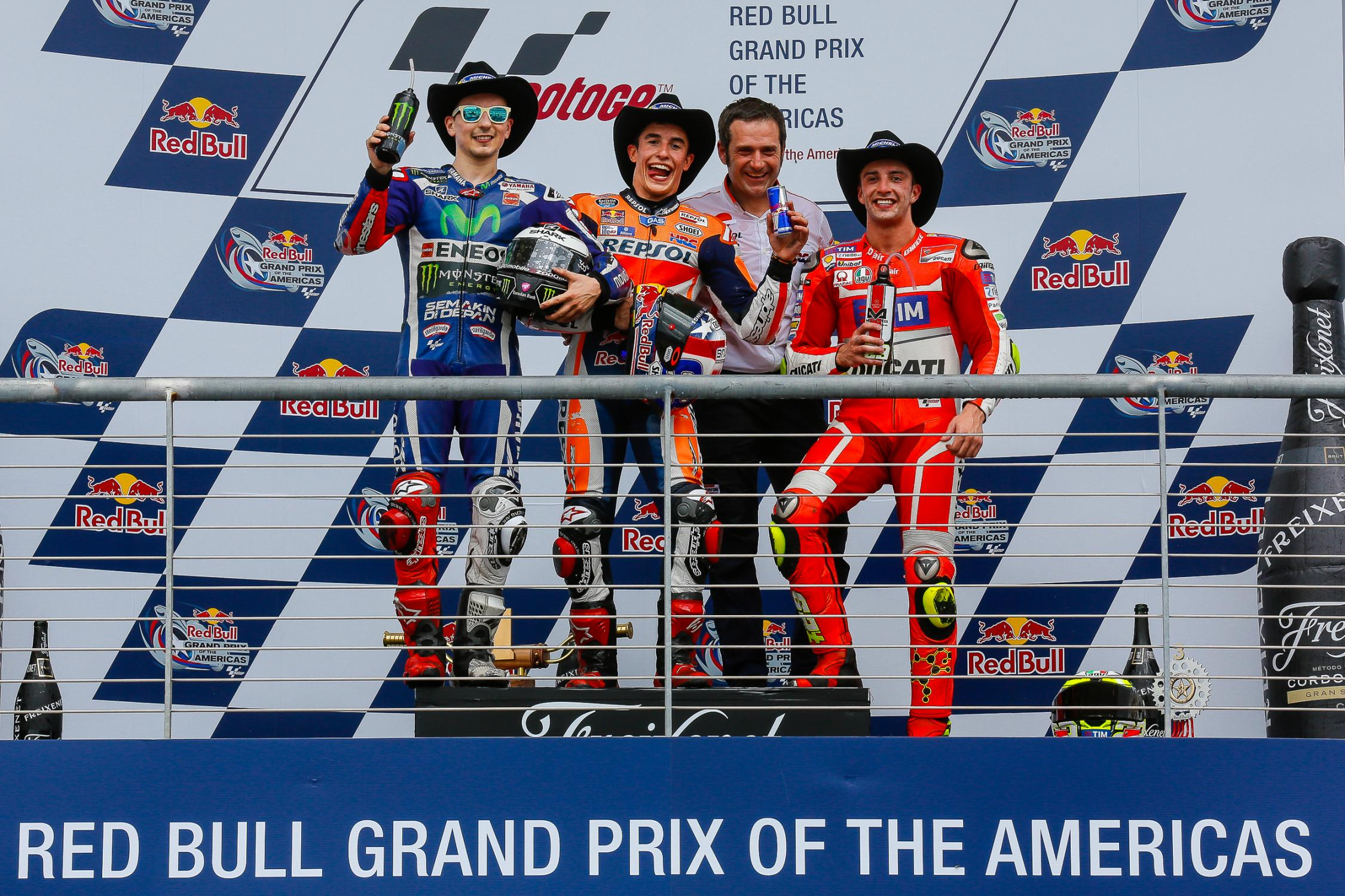 motogp usa podium