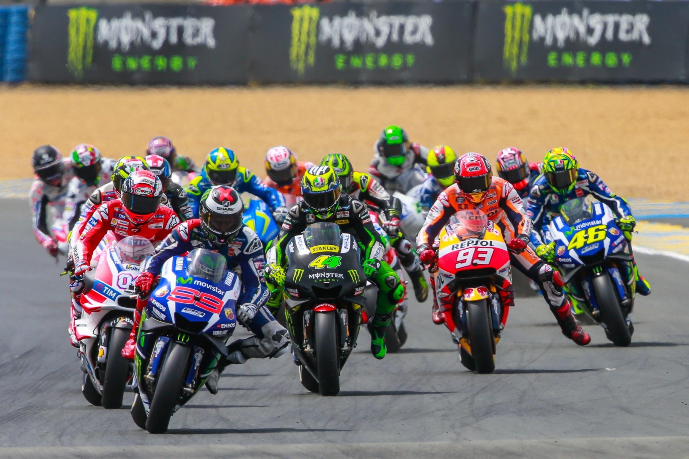 Grand prix de france motogp 2016 la poign e dans l 39 angle for Prix m2 le mans