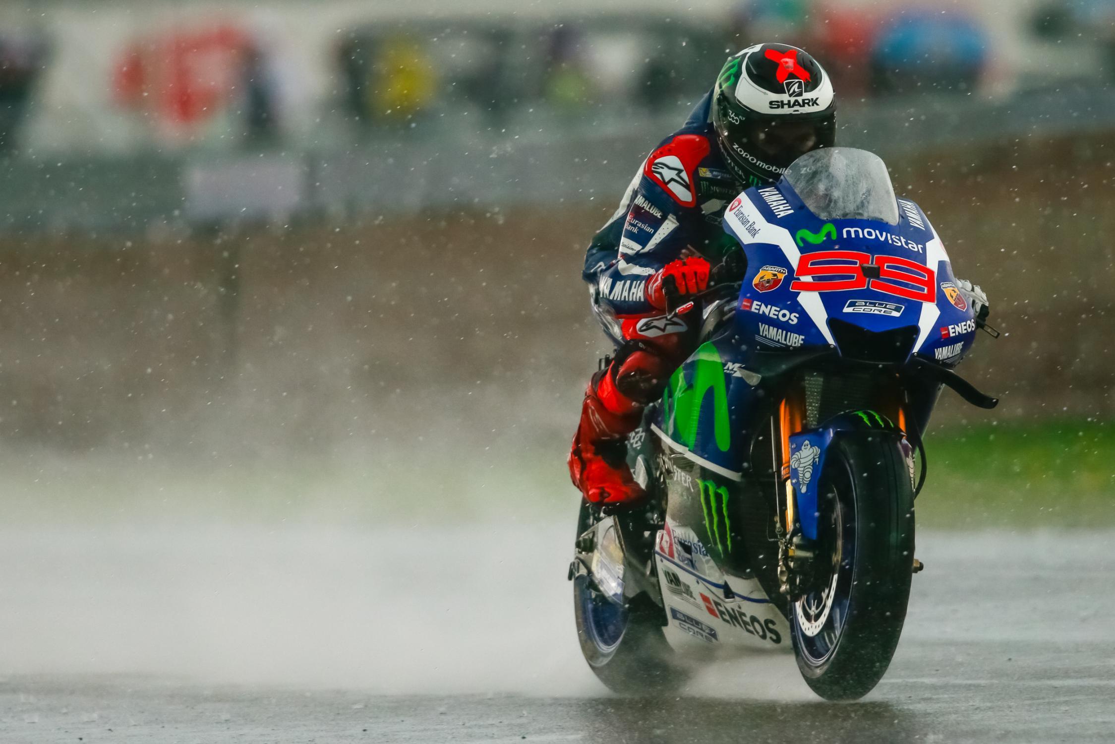 jorge lorenzo pluie