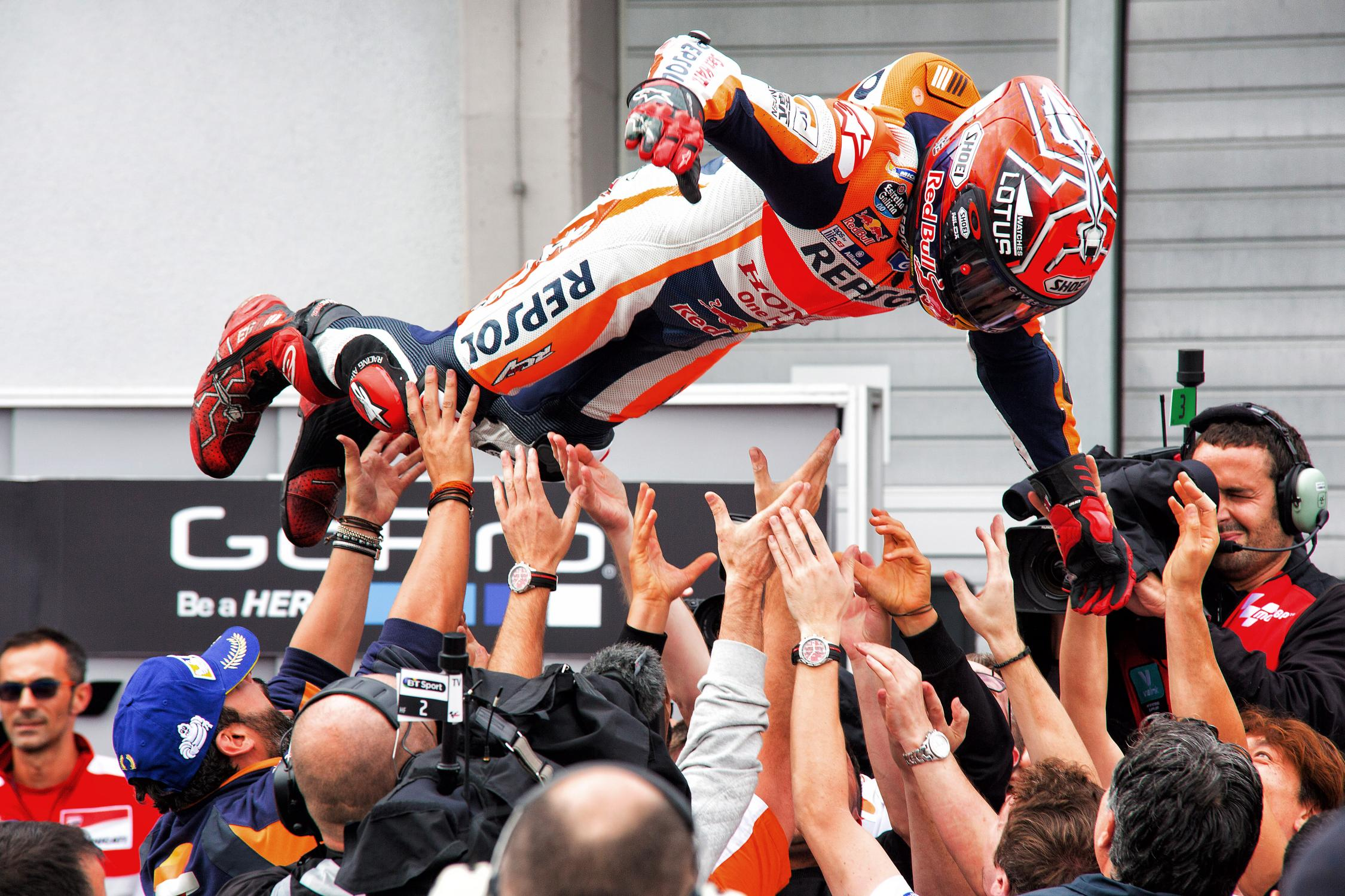marc marquez flight