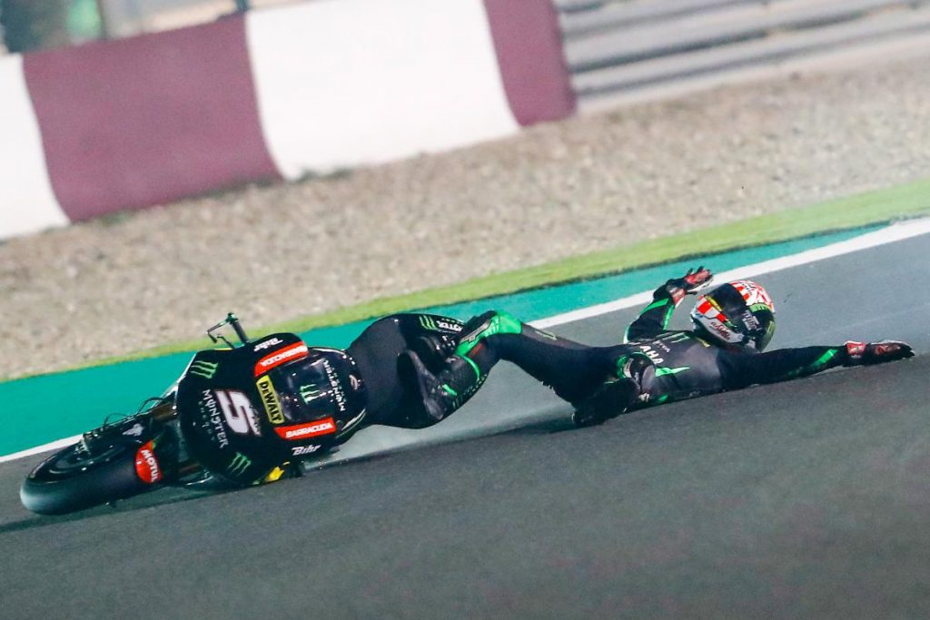 johann zarco crash